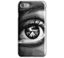 Eye In Charcoal iPhone Case/Skin