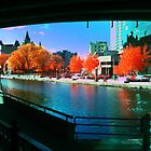 Funky Downtown Ottawa Infra-Red Evening  by Max Buchheit