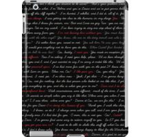 DeanCas Quotes - IPad iPad Case/Skin