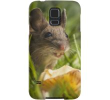 Field Mouse Eating an Apple Samsung Galaxy Case/Skin