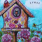 Birds and the Bee Trust Art Reproduction by Tanya Anne Cole by Tanya Anne Cole