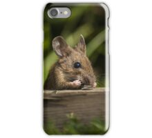 Field Mouse Snack Bar iPhone Case/Skin