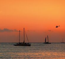 Hawaii helicopter by Chris Brunton