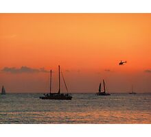 Hawaii helicopter Photographic Print
