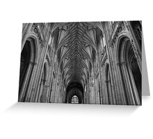 """Winchester Cathedral"" Greeting Card"