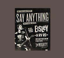 Say Anything Early Rarities Tour Shirt Unisex T-Shirt