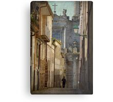 The angel and the priest Metal Print