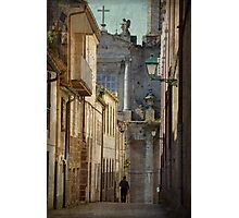 The angel and the priest Photographic Print