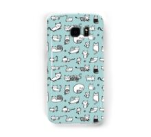 Blue Kitties Samsung Galaxy Case/Skin