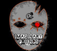 Imaginary F(r)iends - Matted Print by CaseyVenn