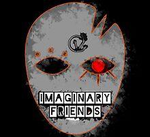 Imaginary F(r)iends - Matted Print by CaseyVenn