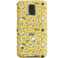 Yellow Kitties Samsung Galaxy Case/Skin