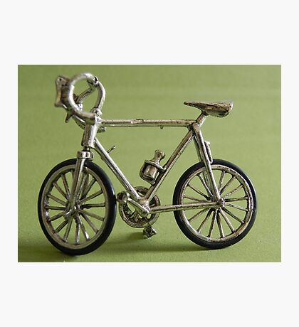 old bicycle Photographic Print