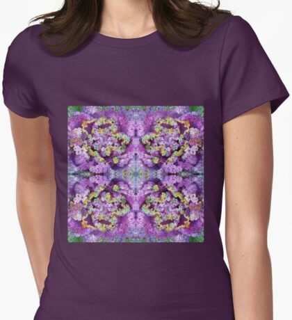 Soft Winter Drops - In the Mirror Womens Fitted T-Shirt