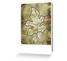 Silverleaf Greeting Card