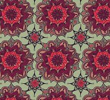 Pink Flower Mandala by KarterRhys