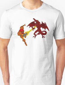 Super Samus Vs Ridley Celtic Colored Unisex T-Shirt