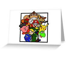 Super Smash Bros 64 Greeting Card