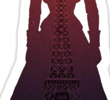 Elizabeth In Paris - Bioshock Infinite  Sticker
