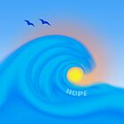 Waves of Hope by bicyclegirl