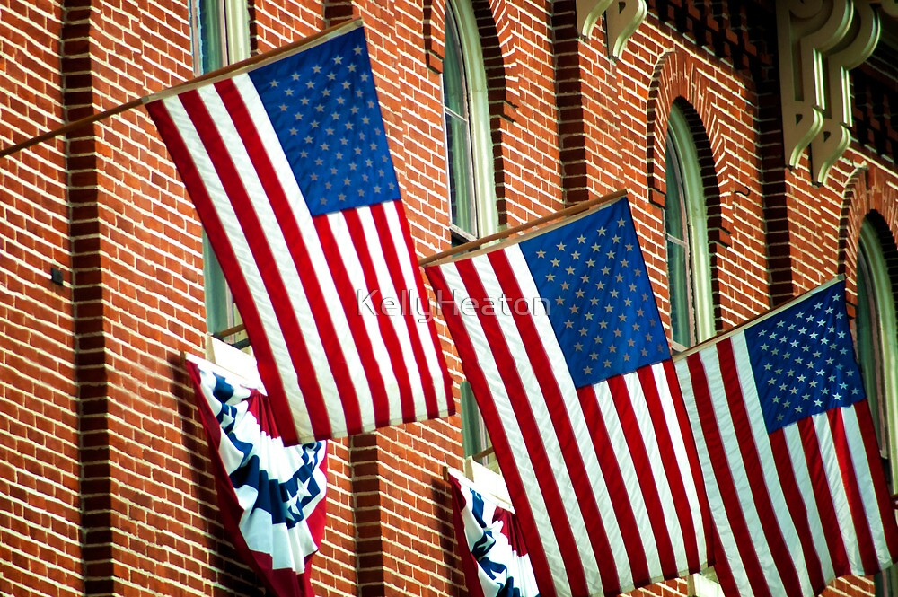 American Flags by KellyHeaton