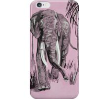 Pink Elephant iPhone Case/Skin