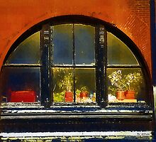 Old Window in Old Market by RC deWinter