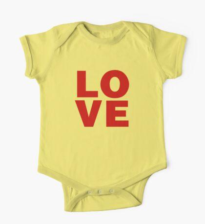 Love Valentines Day Shirts One Piece - Short Sleeve