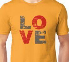 Love Distressed Valentines Day Unisex T-Shirt