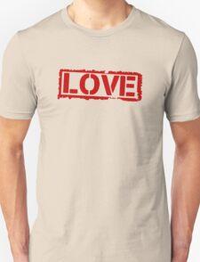 Love Stamp Valentines Day T-Shirt