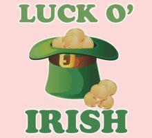 Luck O' Irish St Patricks Day Kids Clothes