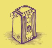 Vintage Kodak Camera Baby Tee