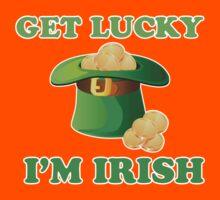 Get Lucky Im Irish St Patricks Day Kids Clothes