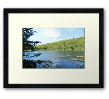 Lake Large Framed Print
