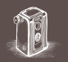 Vintage Kodak Camera Bigun by Gabrielle Boucher