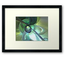 Serenity Achieved Abstract Framed Print