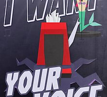 I want your voice by IER STUDIO