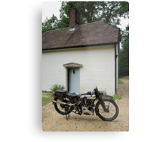 Brough Superior SS 100 at Clouds Hill Metal Print