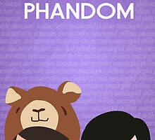 Phandom Poster (Purple) by EricaCookies