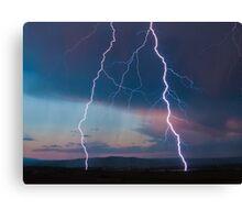 Lightning. Canvas Print