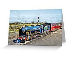 Romney Hythe and Dymchurch Railway Greeting Card