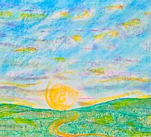Pathway to the Sun by Christine Chase Cooper