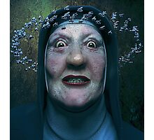 Blue Nun Photographic Print