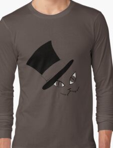 Cheshire Cat in the Hat Long Sleeve T-Shirt