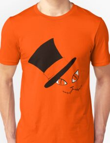Cheshire Cat in the Hat Unisex T-Shirt