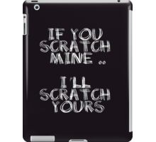 FATHERS DAY GIFT - THE  BACK SCRATCHER KIT! iPad Case/Skin