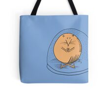 Fat mouse in a snow globe Tote Bag