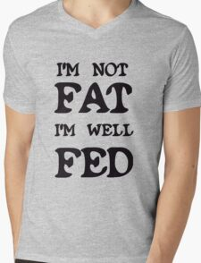 A FAT HERS DAY TREAT  Mens V-Neck T-Shirt