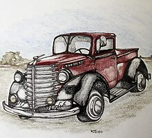 I love classic pickups by KarenJI1962