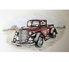 I love classic pickups Photographic Print